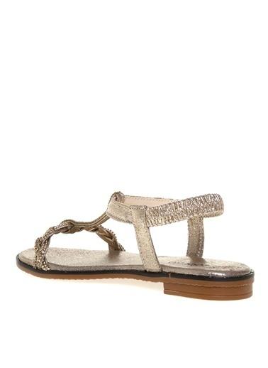 Fabrika Fabrika Altın Sandalet Altın